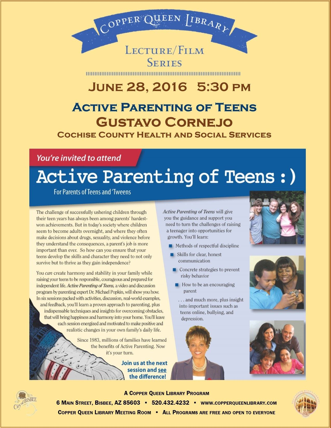 JUNE 28.2016 PARENTING TEENS POSTER