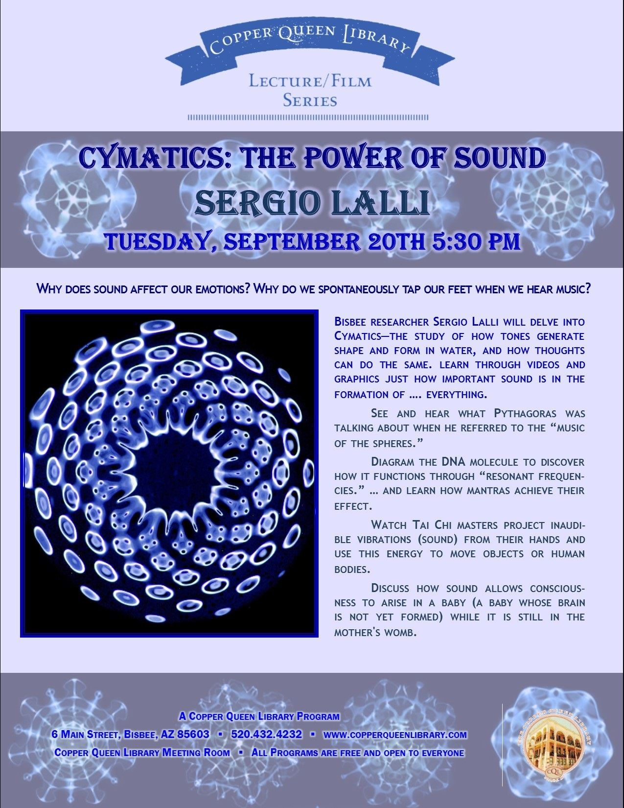 LALLI THE POWER OF SOUND POSTER
