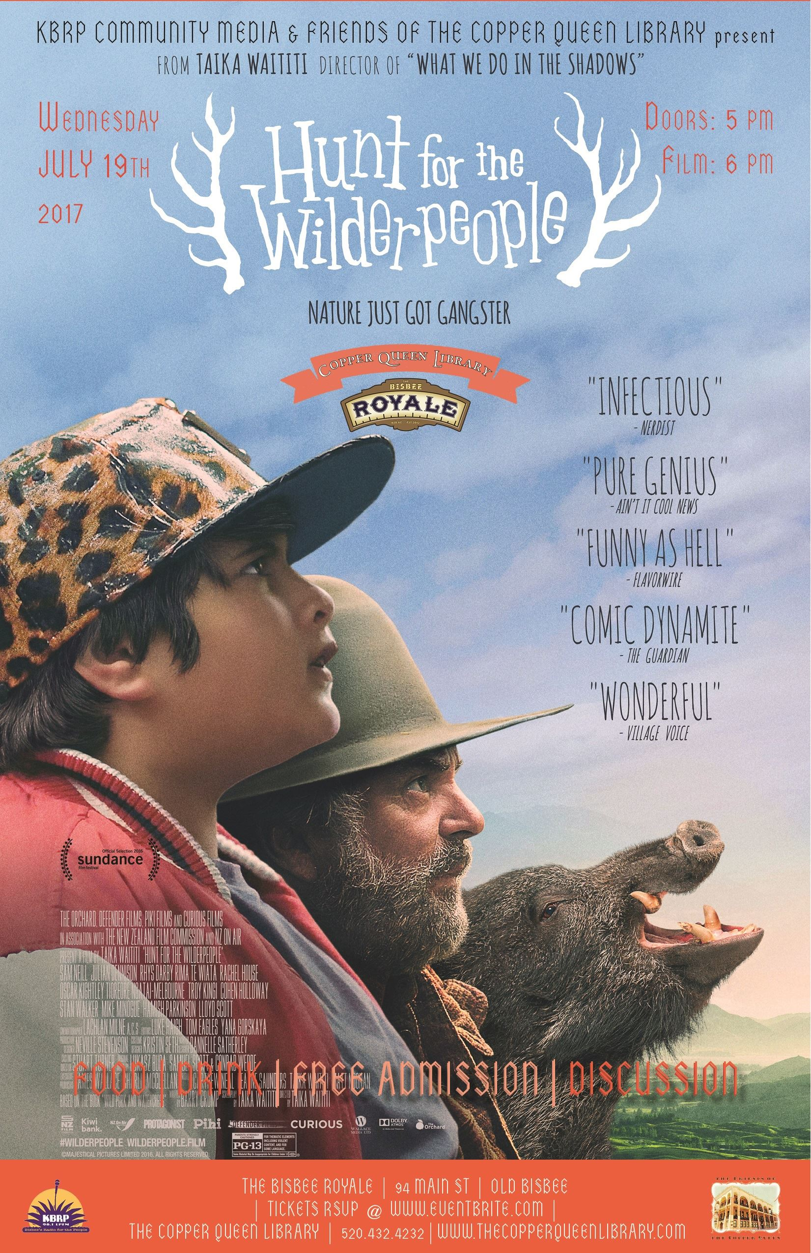 HUNT FOR WILDERPEOPLE JULY 2017 11 X 17