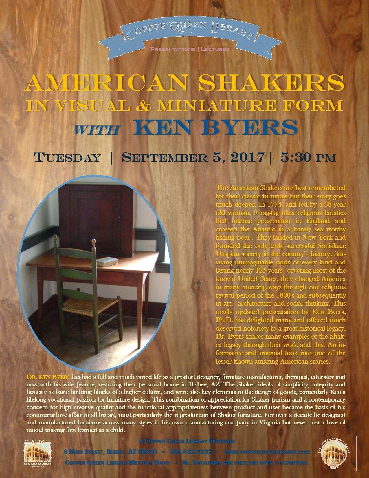 SHAKERS BYERS POSTER 9.5.17 8.5 x 11