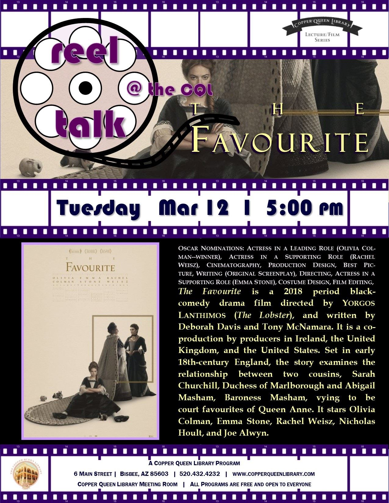 REEL TALK THE FAVOURITE