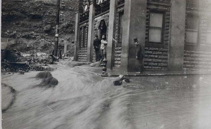 Library Flood 1908