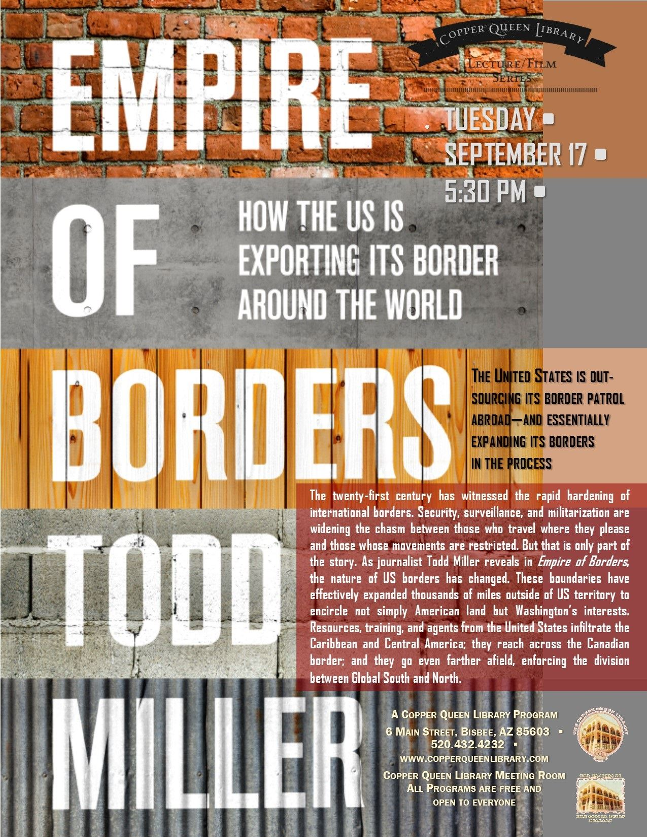 TODD MILLER EMPIRE OF BORDERS 9.17.19 8.5 X 11