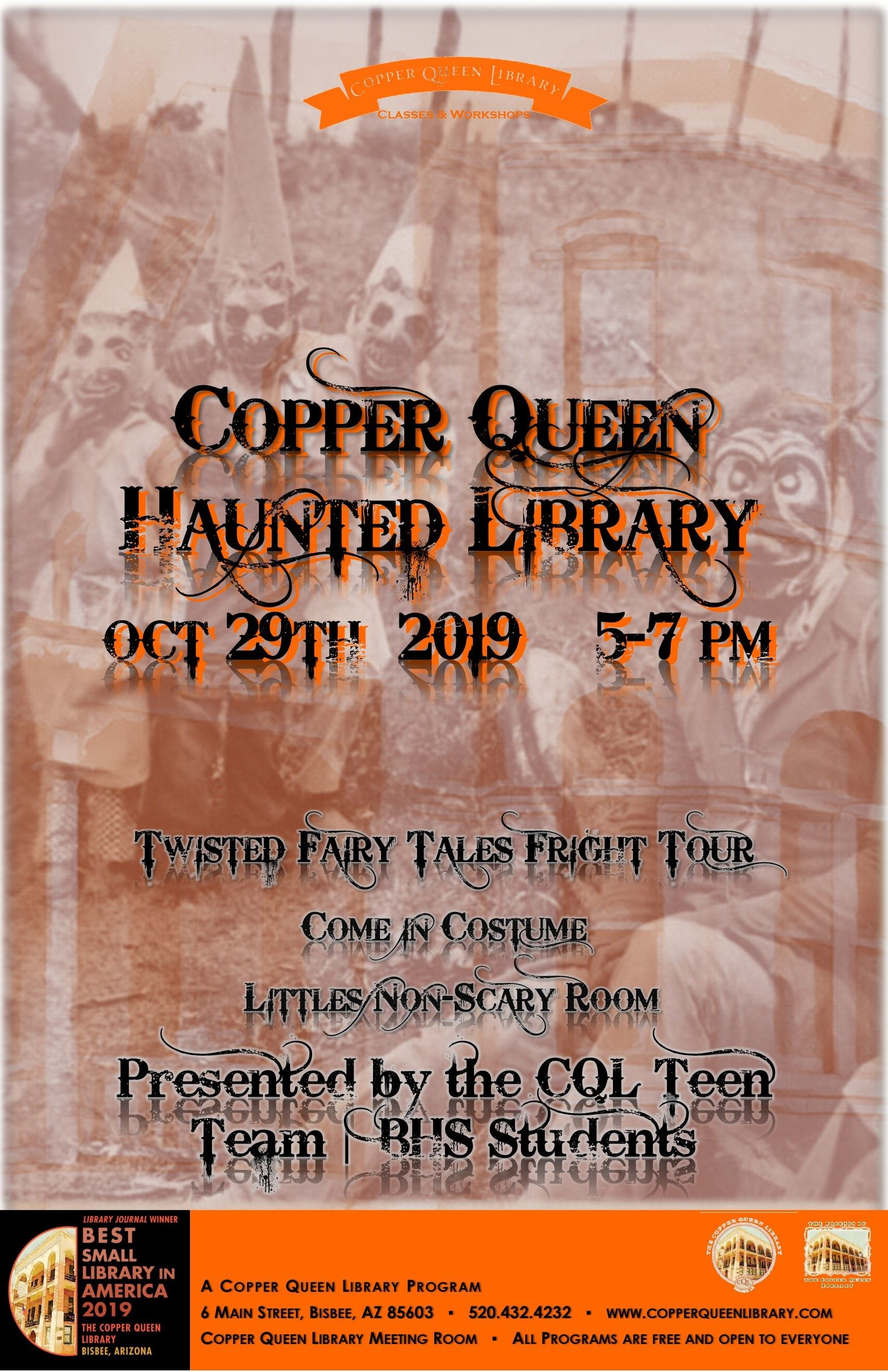 HAUNTED LIBRARY 2 POSTER