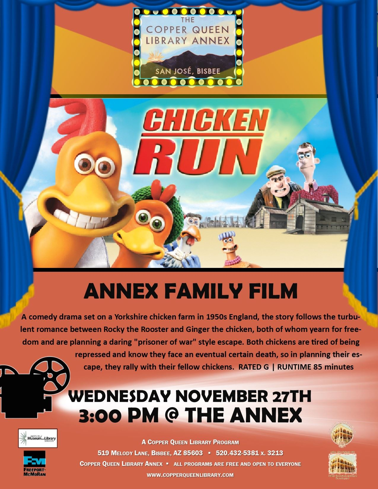 Annex Movie Chicken Run