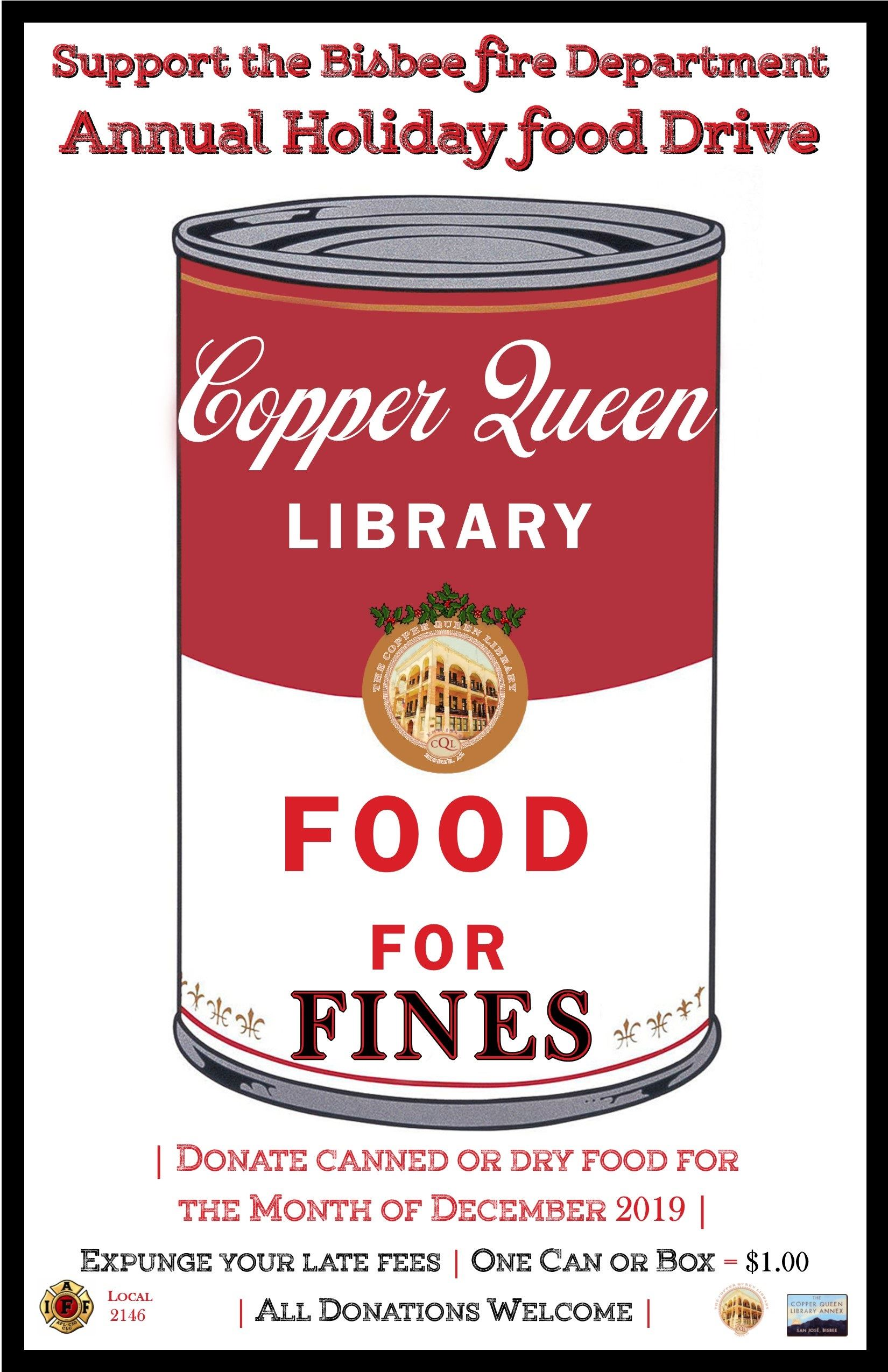 FOOD FOR FINES DEC 2019