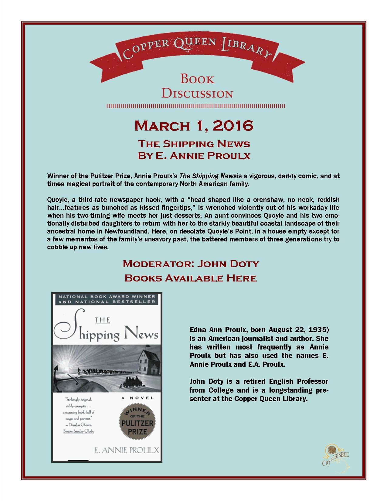 March 1 CQL BOOK DISCUSSION 8.5 x 11 3-1-2016