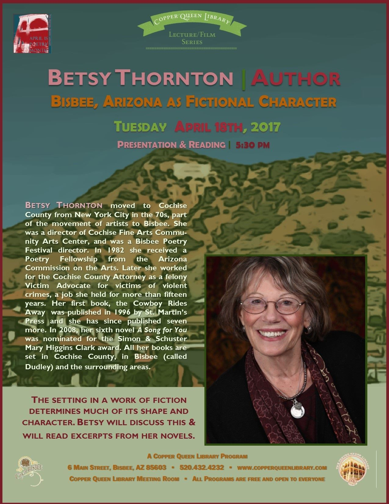 BETSY THORNTON  4.18.17 POSTER 8.5x11