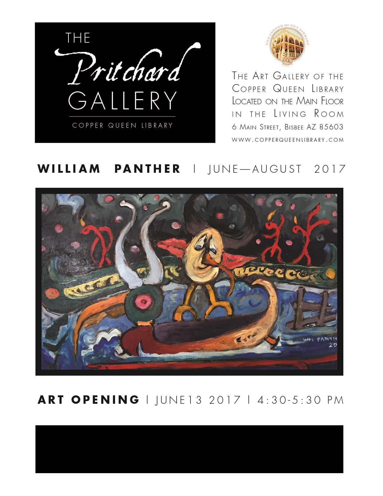 PRITCHARD GALLERY BILL PANTHER
