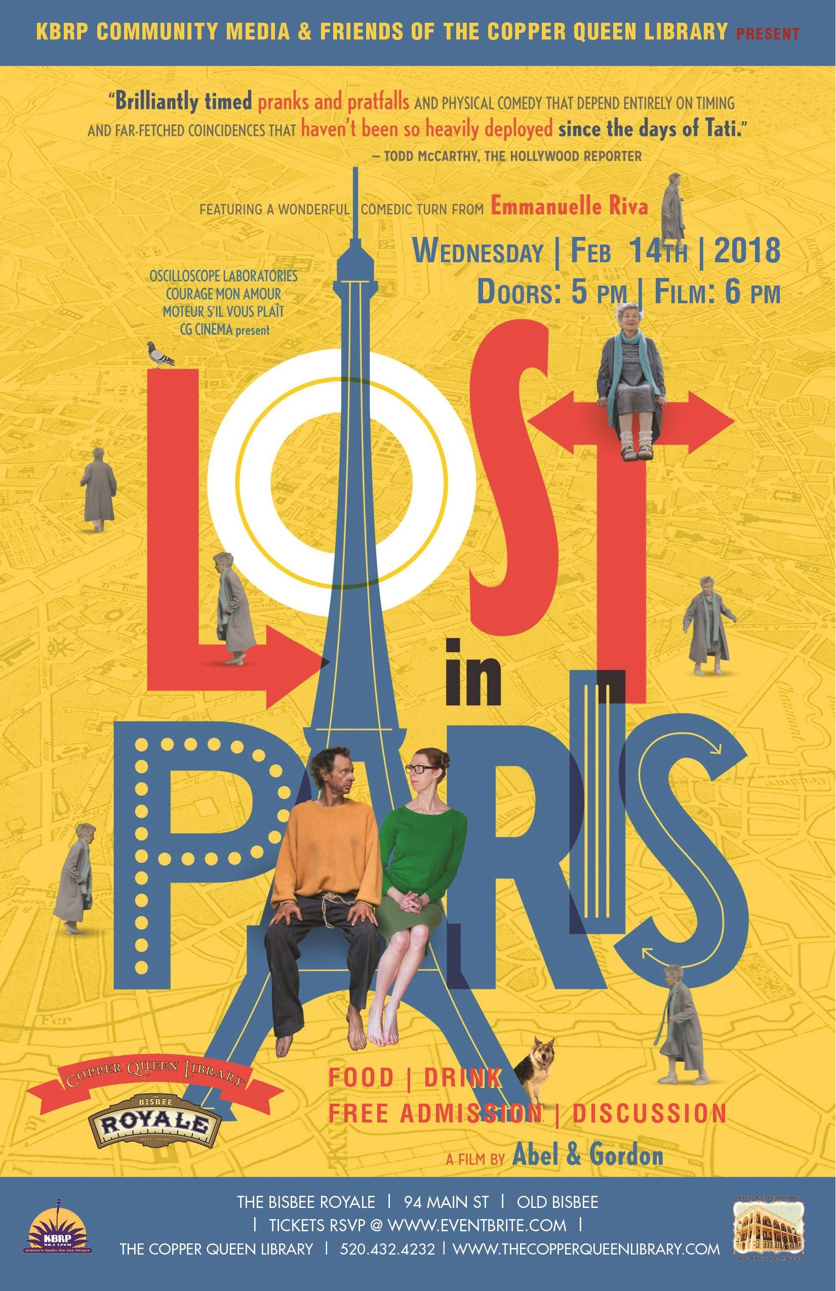 CQL ROYALE LOST IN PARIS FEB 2018 11 X 17