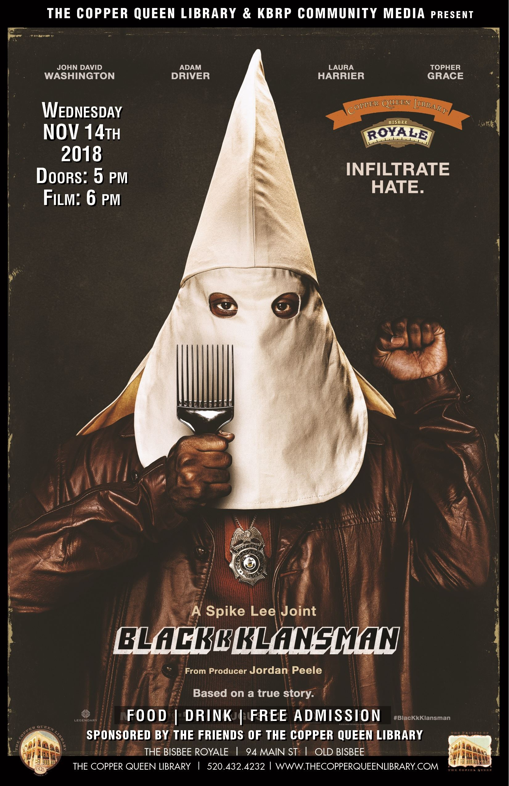 CQL ROYALE BLACKKKLANSMAN