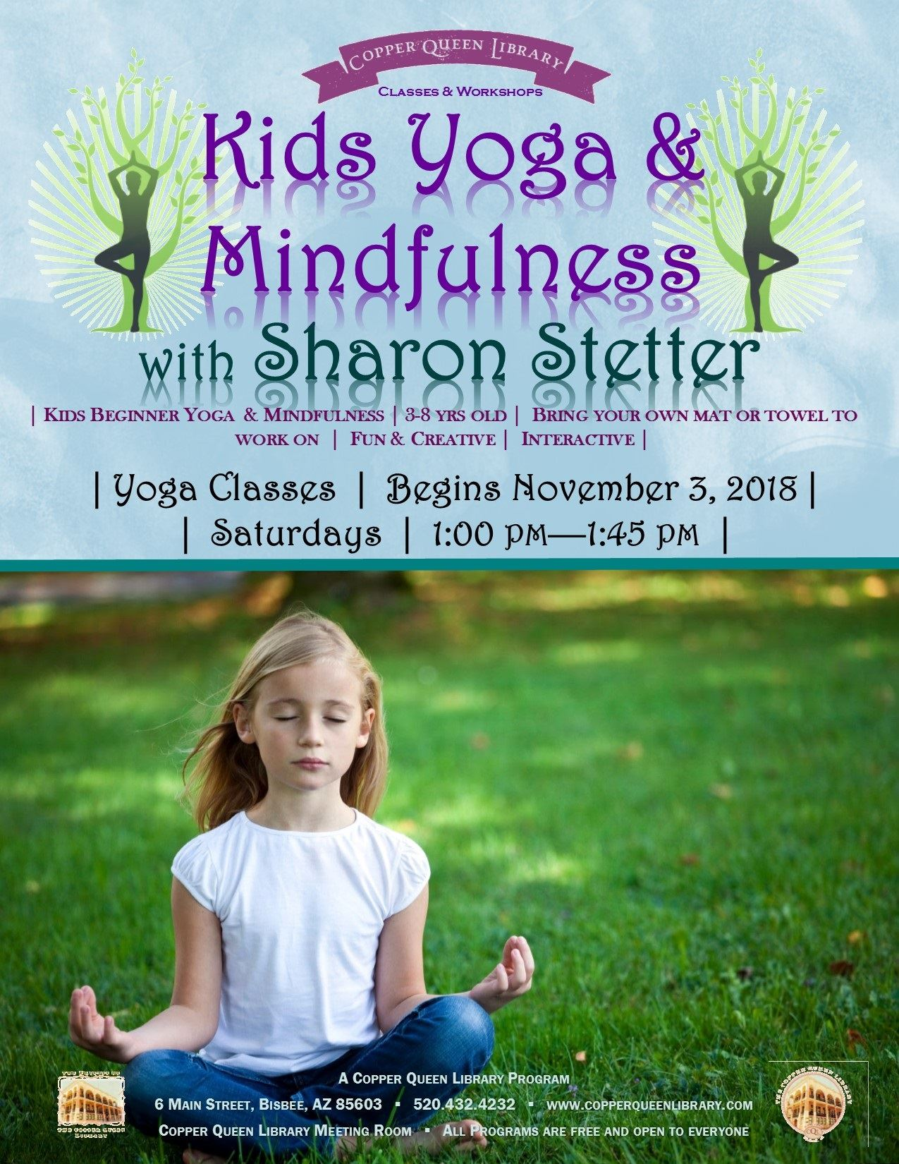 STETTER KIDS YOGA POSTER NOV 2018 8.5 x 11
