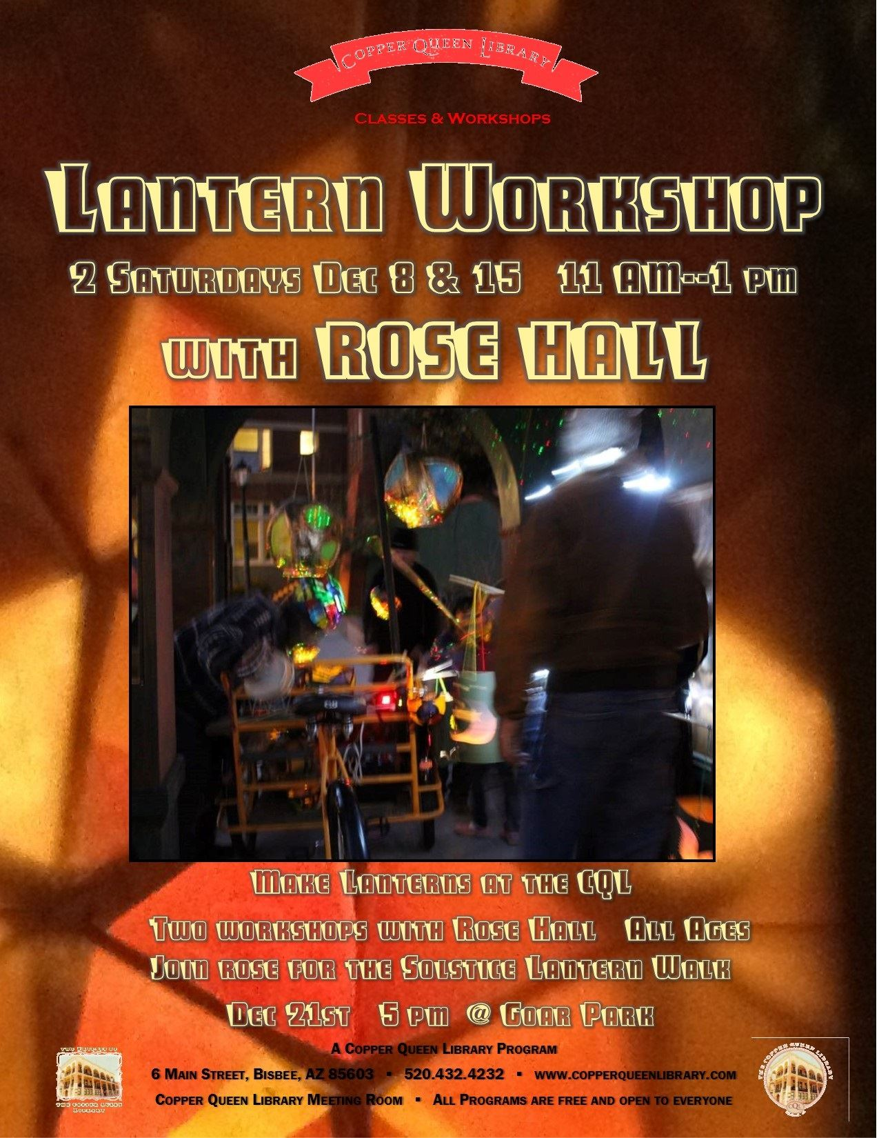 ROSE HALL LANTERN WORKSHOP