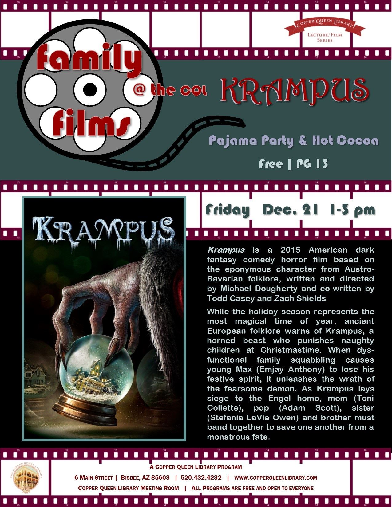 FAMILY FILMS KRAMPUS