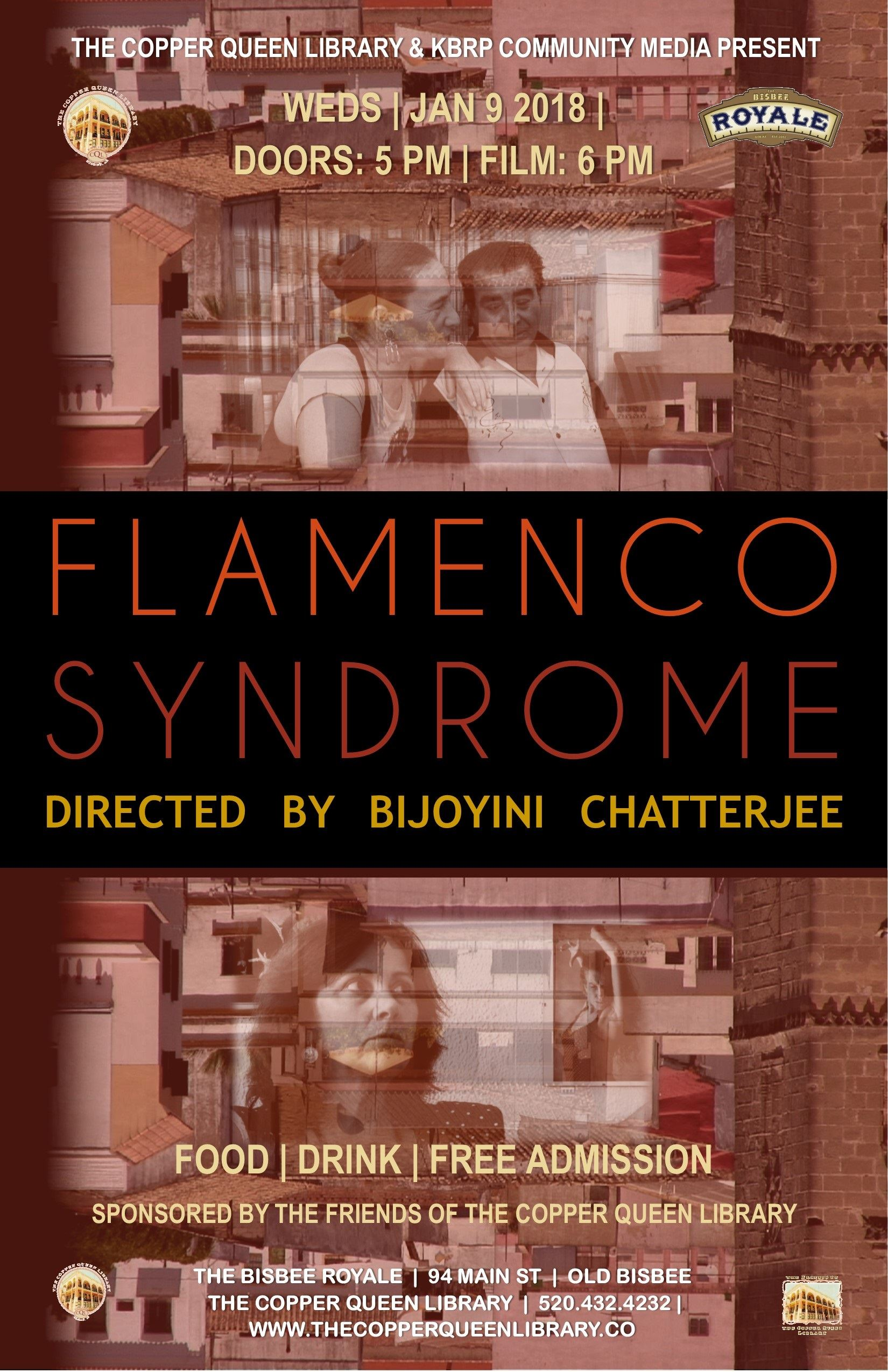 FLAMENCO SYNDROME POSTER ART CHATERJEE