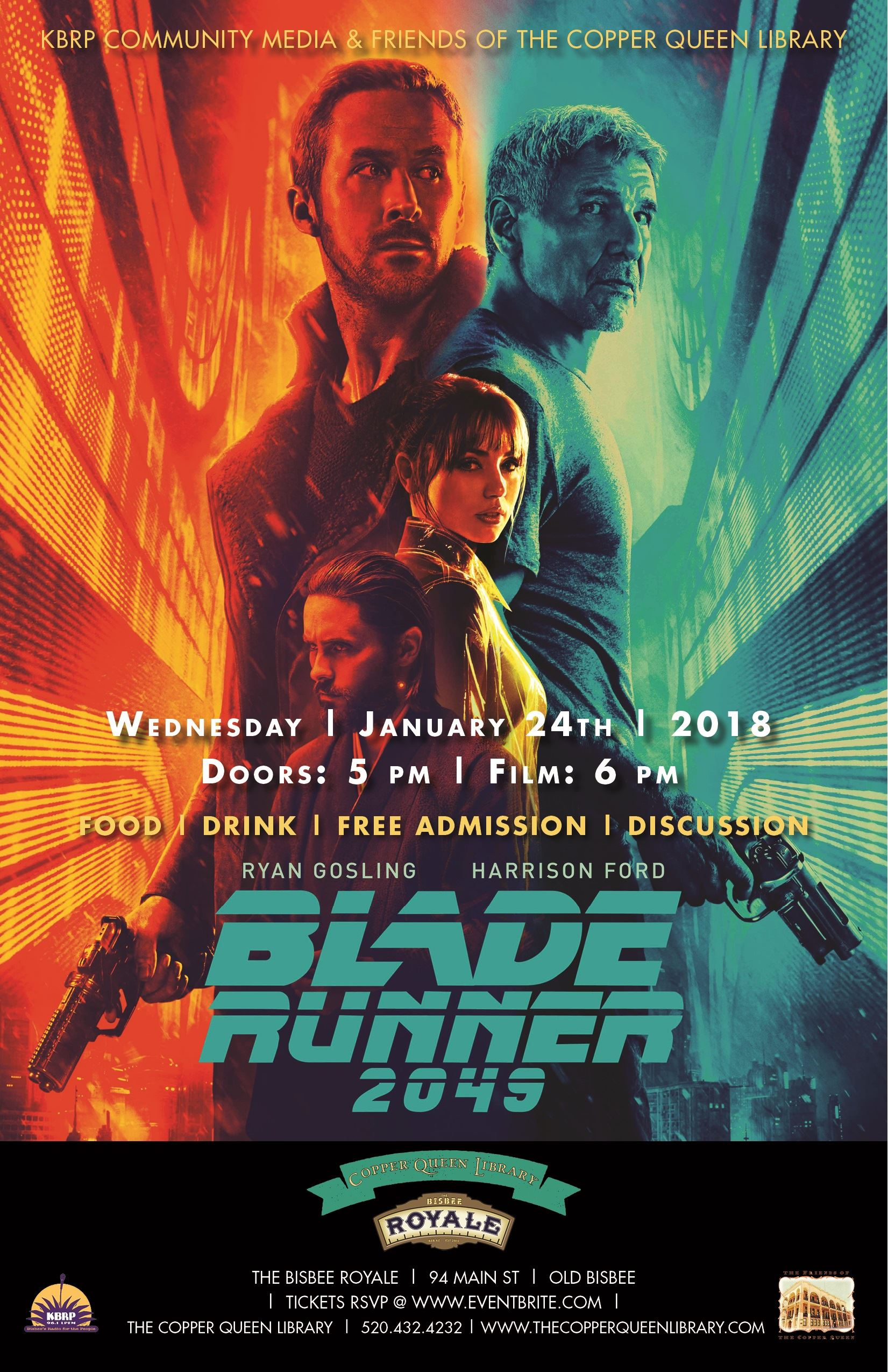 CQL ROYALE BLADE RUNNER 2049 JAN 2018 11 X 17