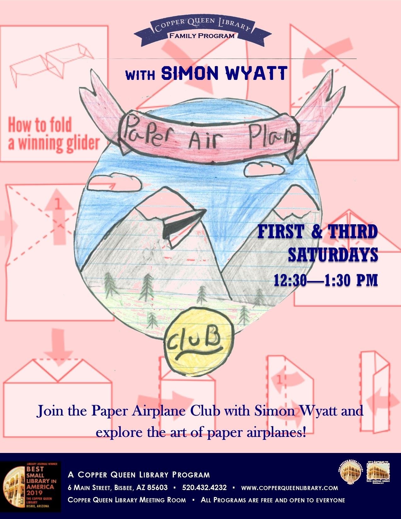 PAPER AIRPLANE CLUB SIMON EVERGREEN