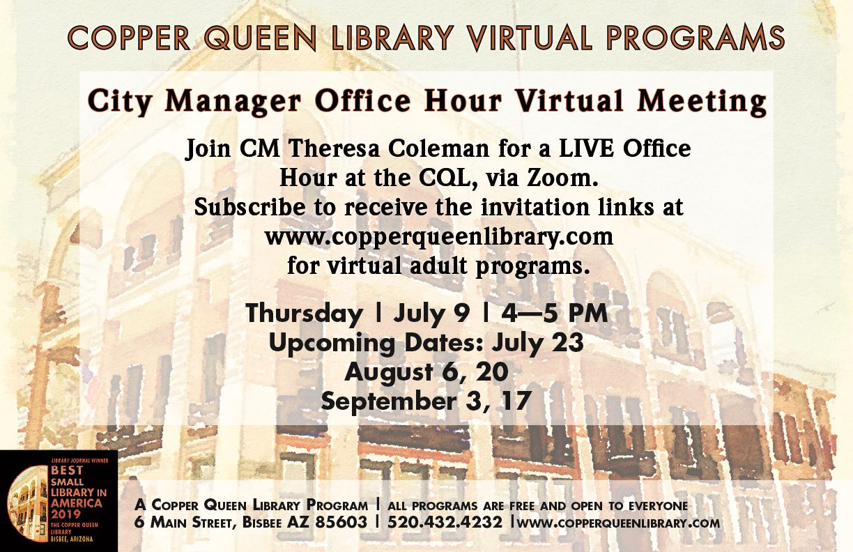 CQL CITY MANAGER OFFICE HOUR POSTER 17 X 11(1)