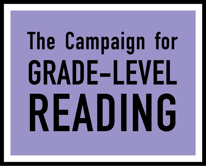 Grade level reading Opens in new window